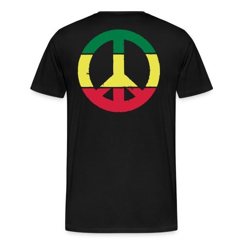 Peace T-shirt - Premium-T-shirt herr