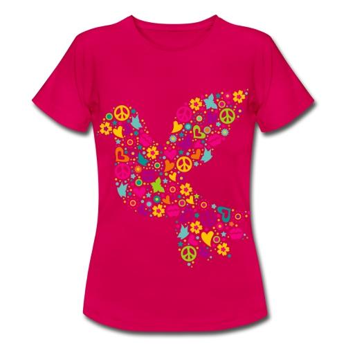 Vrouwen shirt Vogel - Vrouwen T-shirt