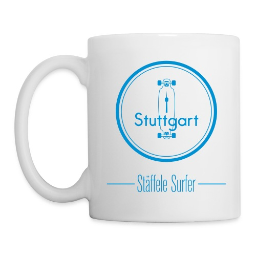 Stuttgart Stäffele Surfer - Tasse