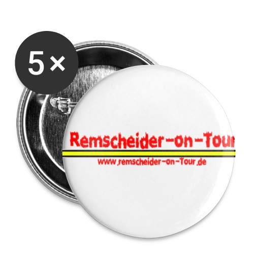 rs-on-tour button2 - Buttons klein 25 mm (5er Pack)