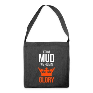 From mud we rise in glory - Schultertasche aus Recycling-Material