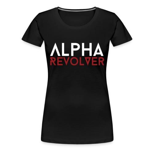 Women's AR text shirt - Women's Premium T-Shirt