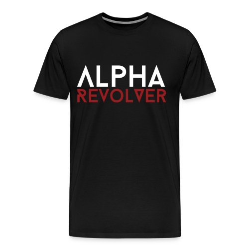Men's AR Text shirt - Men's Premium T-Shirt