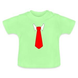 Corbata Roja - Camiseta bebé