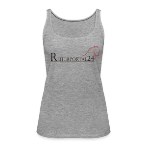 Reiterportal24 Frauen Tank Top grau - Frauen Premium Tank Top