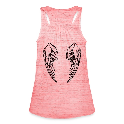 I'm no angel ladies t'shirt - Women's Tank Top by Bella