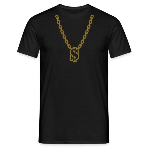 Dollar necklace T-shirt - T-shirt herr