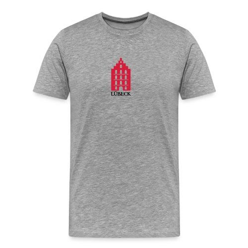 Lübeck - Königin der Hanse - Männer Premium T-Shirt