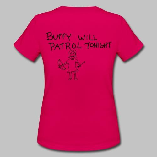 T-shirt Femme (woman) Buffy's patrol - Women's T-Shirt