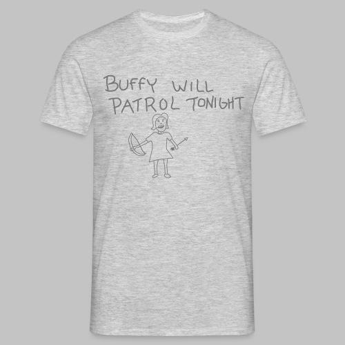 T-shirt Homme (man) Buffy's patrol - Men's T-Shirt