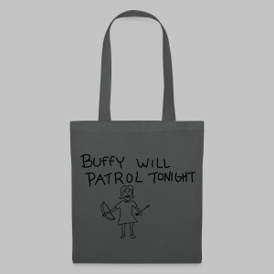 Sac (Tote bag) Buffy's patrol - Tote Bag