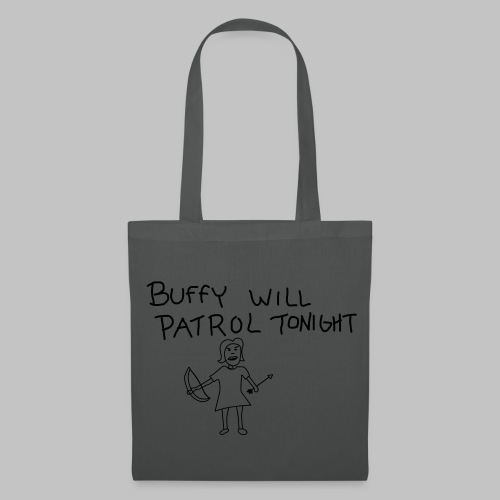 Sac (Tote bag) Buffy's patrol - Tote Bag