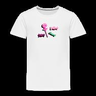 Tee shirts ~ T-shirt Premium Enfant ~ Bonbon collection