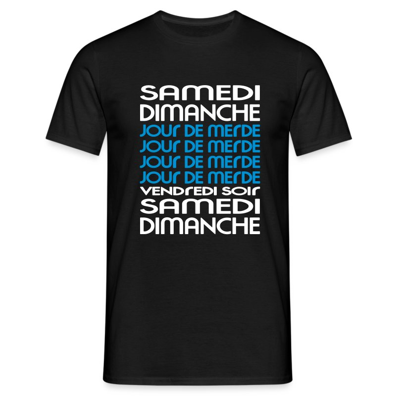Vivement le week-end ! - T-shirt Homme