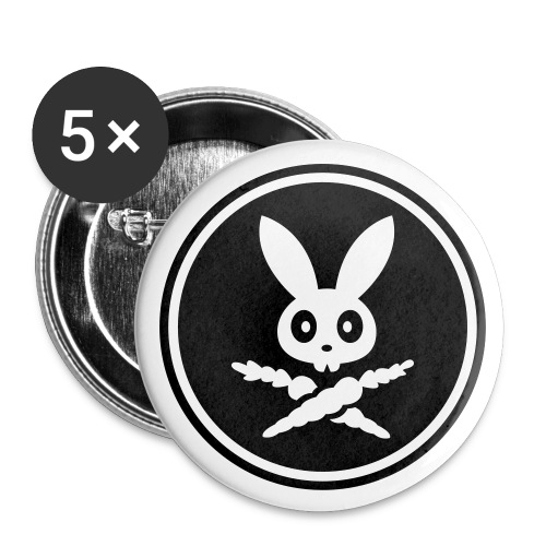 Bumbo Badges (5) - Buttons/Badges lille, 25 mm
