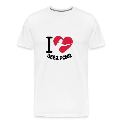 I love Beerpong 2015 - Männer Premium T-Shirt