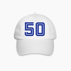 College Numbers, Nummern, Sports Numbers, 50 Caps & Hats