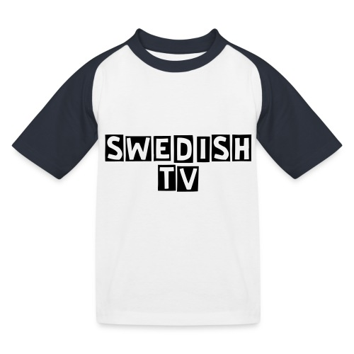 Swedish TV - Baseboll-T-shirt barn