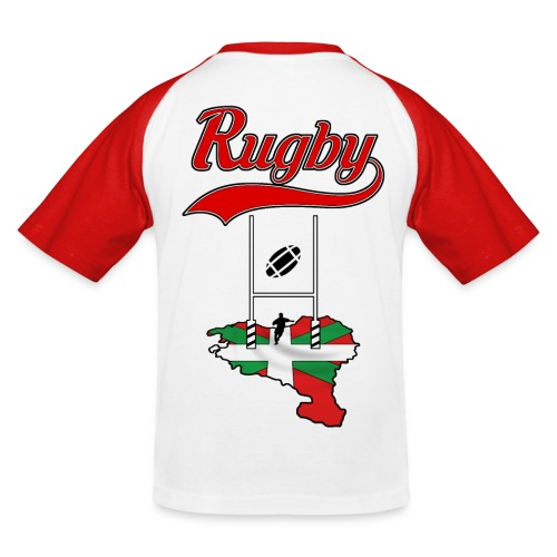 Logo Rugby Basque - T-shirt baseball Enfant