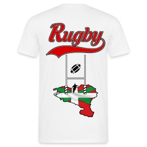Logo Rugby Basque - T-shirt Homme