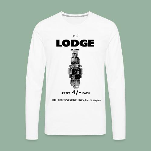 Lodge Premium Long Sleeve T - Men's Premium Longsleeve Shirt