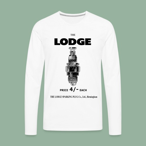 Lodge Premium Long Sleeve T - Men's Premium Longsleeve Shirt