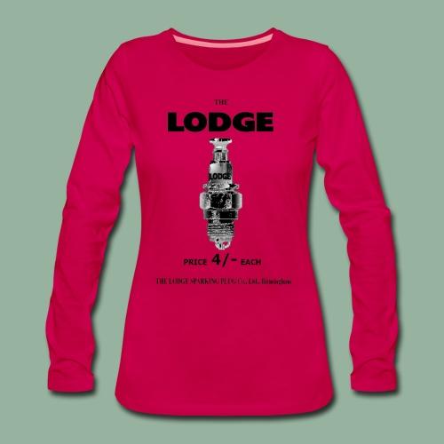 Womens Lodge Premium Long Sleeve - Women's Premium Longsleeve Shirt