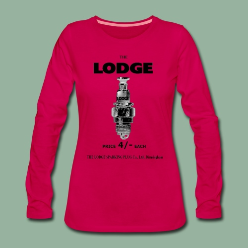 Womens Lodge Premium Long Sleeve - Women's Premium Longsleeve Shirt