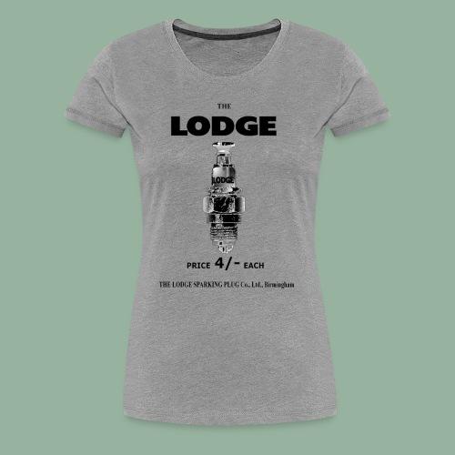 Womens Lodge Premium T - Women's Premium T-Shirt
