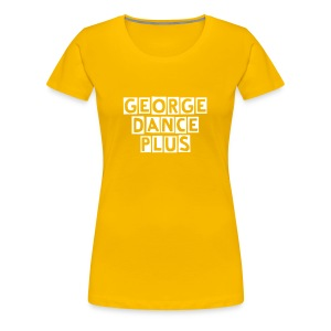 Yellow GDP tee - Women's Premium T-Shirt