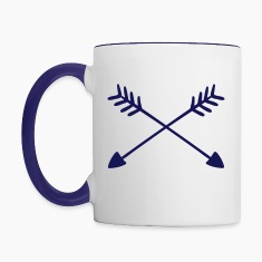 Hand Drawn Arrows  Mugs & Drinkware