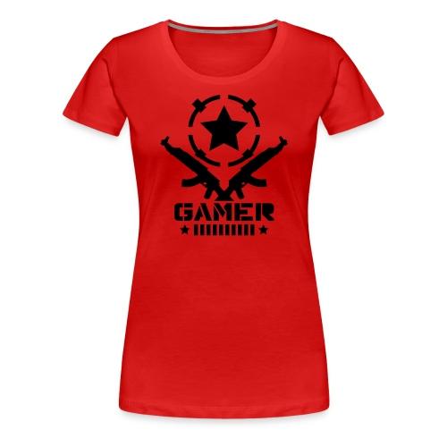 Womens AK Gamer T-Shirt - Women's Premium T-Shirt