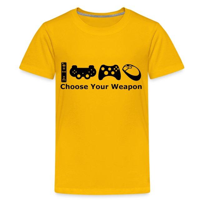 Teenagers Choose Weapon T-Shirt
