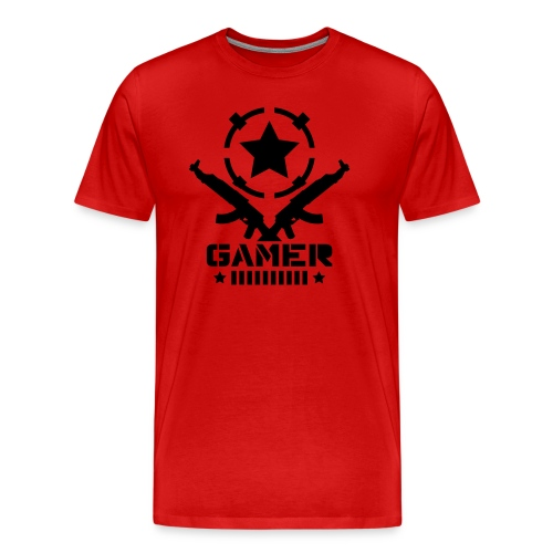 Mens AK Gamer T-Shirt - Men's Premium T-Shirt