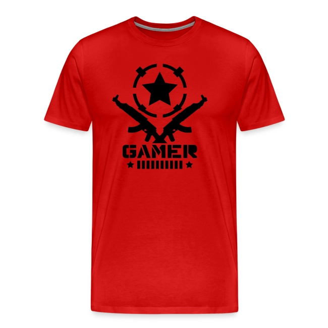 Mens AK Gamer T-Shirt