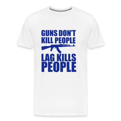 Guns don't kill - Premium-T-shirt herr