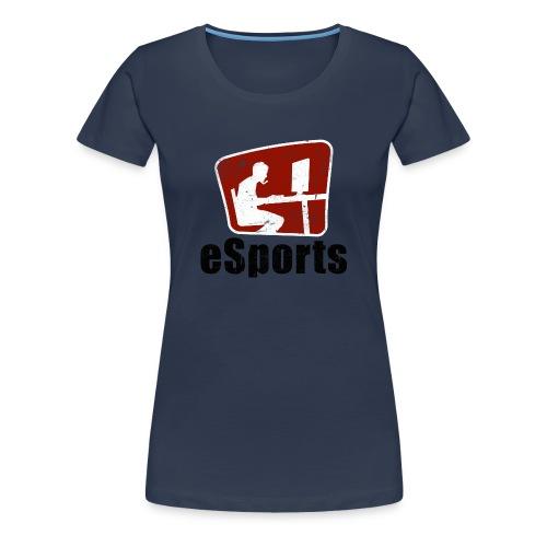 eSports (dam) - Premium-T-shirt dam