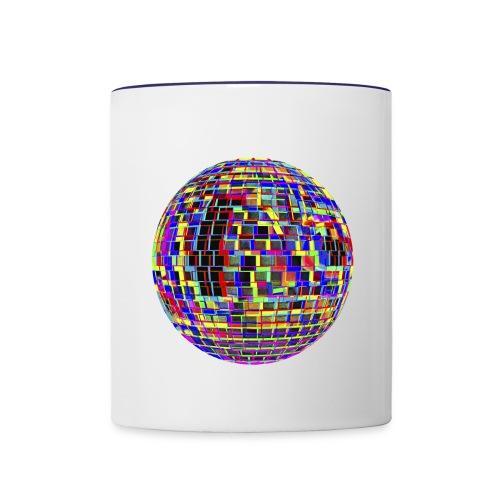 Mug à facettes - Mug contrasté