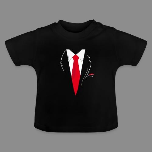 Traje y Corbata - Camiseta bebé