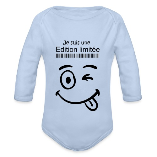 Body bb Edition limitee - Body bébé bio manches longues