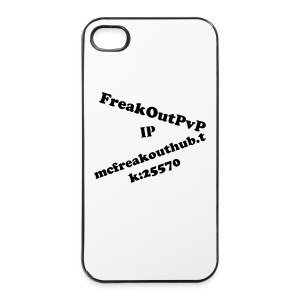 Freakoutpvp Cover Til 4/4s (hardcase) - iPhone 4/4s Hard Case