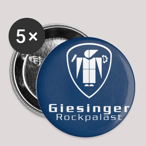 Official Button  –  Plek und Schrift, 5er-Pack - Buttons mittel 32 mm