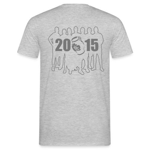 Matthias dunkle Minze grau Schrift - Männer T-Shirt