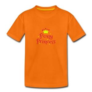 Pony Princess - Teenager Premium T-Shirt
