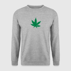 feuille cannabis drogue 303 Sweat-shirts - Sweat-shirt Homme