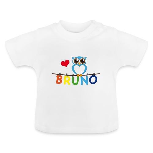 Babyshirt Eule - Bruno - Baby T-Shirt