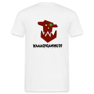 T-Shirts ~ Männer T-Shirt ~ Waaagh-Shirt mit Namen Weiß