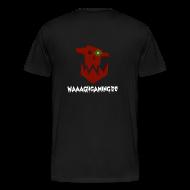 T-Shirts ~ Männer Premium T-Shirt ~ Premium Waaagh-Shirt mit Namen