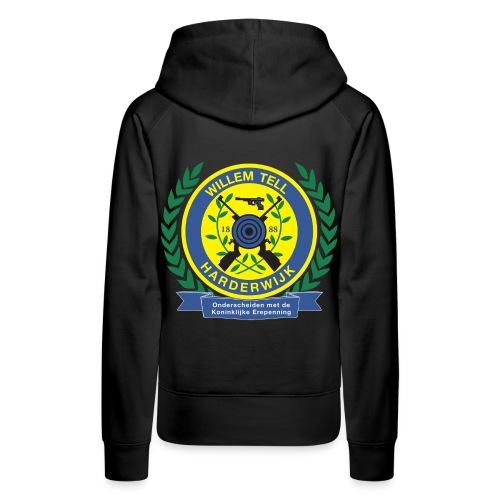Vrouwensweater met logo groot achterop - Vrouwen Premium hoodie