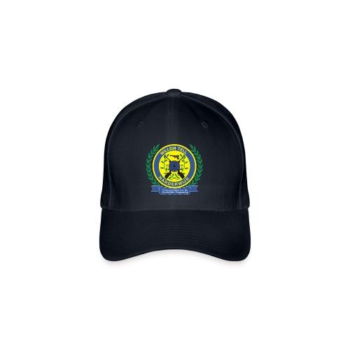 Flexfit baseballcap met logo voorop - Flexfit baseballcap